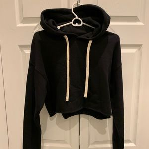 Alo yoga crop hoodie size small